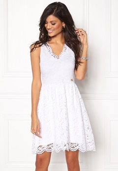 Chiara Forthi Sherbelle Lace Dress Ivory white Bubbleroom.no