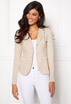 Chiara Forthi Soft As Cashmere Jacket Sand Bubbleroom.fi