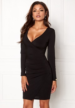 Chiara Forthi Soprano Long Sleeve Dress Black Bubbleroom.se