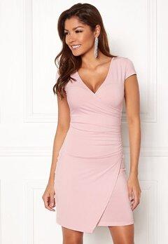 Chiara Forthi Soprano Wrap Dress Light pink Bubbleroom.se