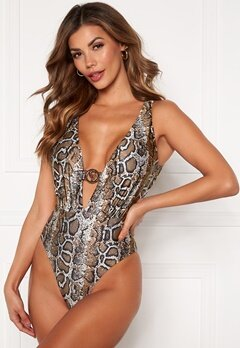 Chiara Forthi St Tropez swimsuit Animal print Bubbleroom.se
