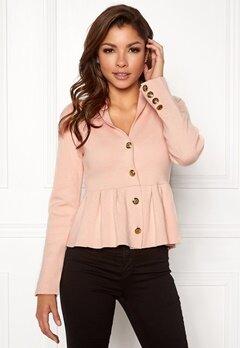 Chiara Forthi Stefania Knit Jacket Pink Bubbleroom.se