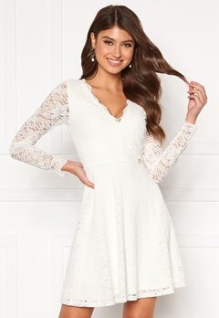Chiara Forthi Stephanie dress White Bubbleroom.se