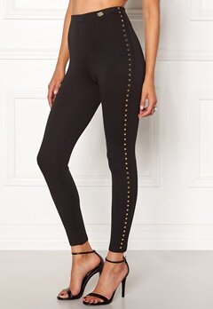Chiara Forthi Studded Pants Black Bubbleroom.se