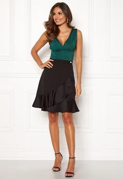 Chiara Forthi Suki Flounce Skirt Black Bubbleroom.se