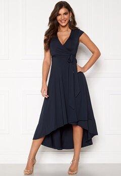 Chiara Forthi Tara Highlow Dress Dark blue Bubbleroom.se