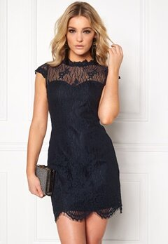 Chiara Forthi Tempesty Lace Dress Midnight blue Bubbleroom.no