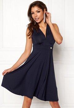 Chiara Forthi Tiamii Dress Navy Bubbleroom.se