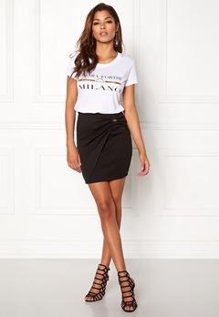 Chiara Forthi Trilby Bow Skirt Black Bubbleroom.se