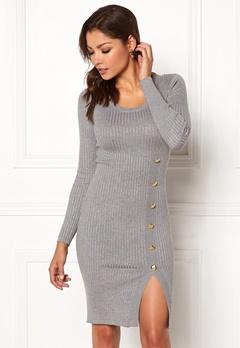 Chiara Forthi Tripoli dress Grey melange Bubbleroom.se