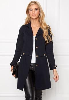 Chiara Forthi Utility Jersey Cardigan Blue-black Bubbleroom.se