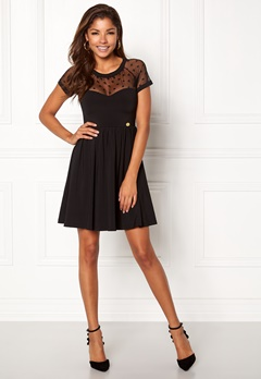 Chiara Forthi Valentina dress Black Bubbleroom.se