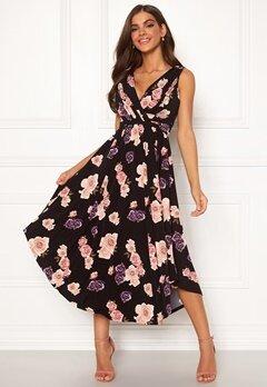 Chiara Forthi Valeria Dress Black / Floral Bubbleroom.se