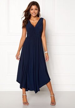 Chiara Forthi Valeria Dress Dark blue Bubbleroom.se