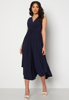 Chiara Forthi Valeria Dress Dark blue Bubbleroom.se