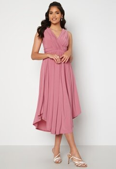 Chiara Forthi Valeria Dress Dark pink Bubbleroom.se