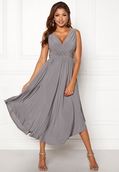 Chiara Forthi Valeria Dress Grey Bubbleroom.se