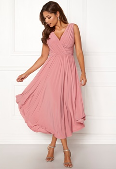 Chiara Forthi Valeria Dress Heather pink Bubbleroom.se