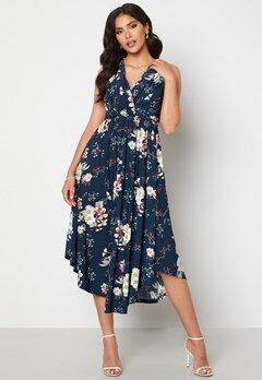 Chiara Forthi Valeria Dress Navy / Floral Bubbleroom.se