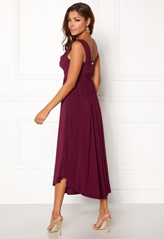 Chiara Forthi Valeria Dress Plum Bubbleroom.fi