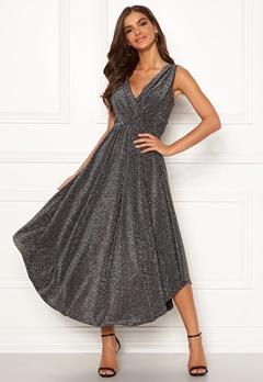 Chiara Forthi Valeria Sparkling Dress Black / Silver Bubbleroom.se