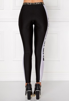 Chiara Forthi Vanilla Sporty Pants Black / White Bubbleroom.se