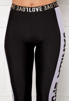 Chiara Forthi Vanilla Sporty Jerseyhousut Musta / Valkoinen Bubbleroom.fi