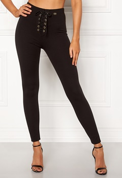 Chiara Forthi Velona lace-up leggings Black Bubbleroom.se