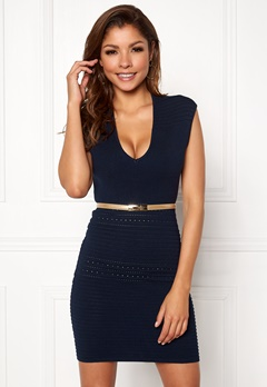 Chiara Forthi Vendela Dress Navy Bubbleroom.se