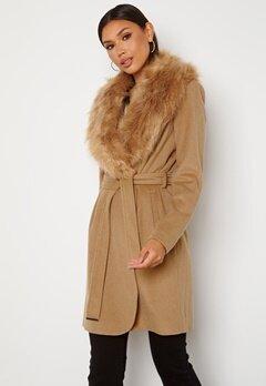 Chiara Forthi Verona Coat Camel Bubbleroom.se
