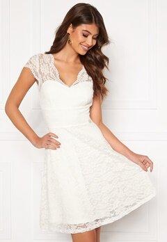 Chiara Forthi Violette lace dress White Bubbleroom.se