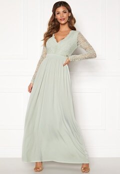 Chiara Forthi Wendolyn gown Dusty green Bubbleroom.se