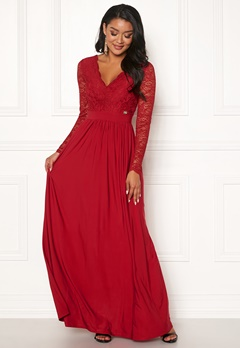 Chiara Forthi Wendolyn gown Red Bubbleroom.se