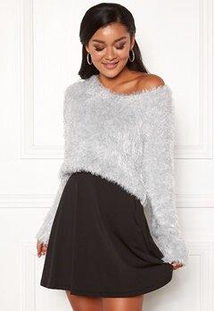 Chiara Forthi Woop sparkle sweater Silver Bubbleroom.se