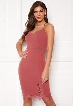 Chiara Forthi Bexy lace dress Dusty pink Bubbleroom.se