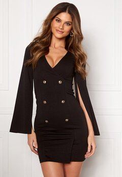 Chiara Forthi Hailey Blazer Dress Black Bubbleroom.se