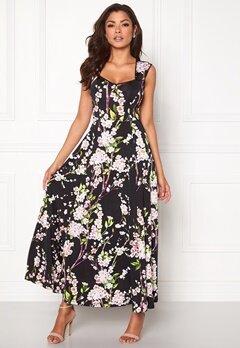 Chiara Forthi Piubella  Maxi dress Black / Floral Bubbleroom.eu