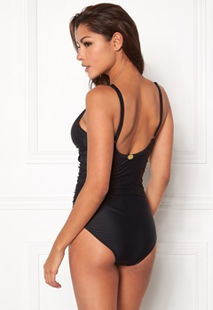 Chiara Forthi Shaping Swimsuit Black Bubbleroom.se