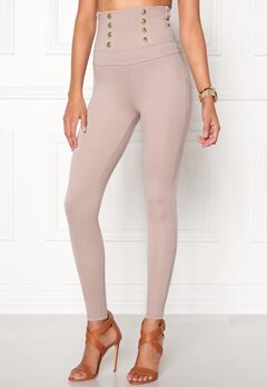 Chiara Forthi Super Sky High Pants Light mole Bubbleroom.se