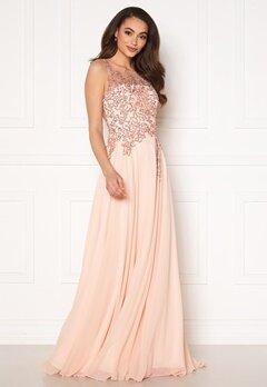 Christian Koehlert Alexandria Embellished Dress Pearl Pink Bubbleroom.se