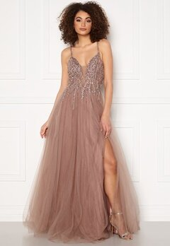 Christian Koehlert Dawn Tulle Dress Dawn Pink Bubbleroom.se
