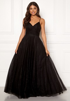 Christian Koehlert Princess Glitter Dress Glitter Black Bubbleroom.se