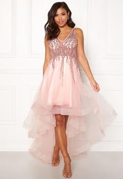 Christian Koehlert Sparkling Short Dream Dress Pearl Pink Bubbleroom.se
