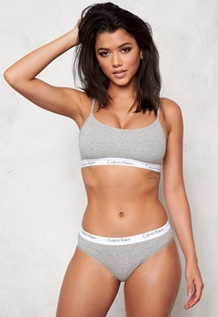 Calvin Klein CK One Cotton Bralette Grey Heather Bubbleroom.se