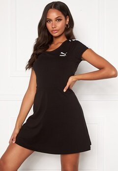 PUMA Classic Shortsleeve Dress Black Bubbleroom.se