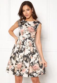 Closet London Tie Back Dress Multi Bubbleroom.se