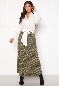 co'couture Alina Flower Skirt Mustard Bubbleroom.se