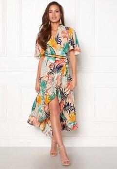 co'couture Bali Maxi Wrap Dress Off White Bubbleroom.se