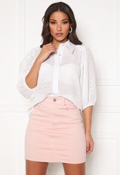 co'couture Briela Anglaise Shirt White Bubbleroom.se