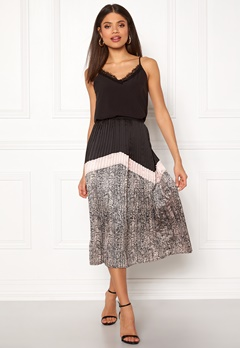 co'couture Cobra Plisse Skirt Nude Rose Bubbleroom.se